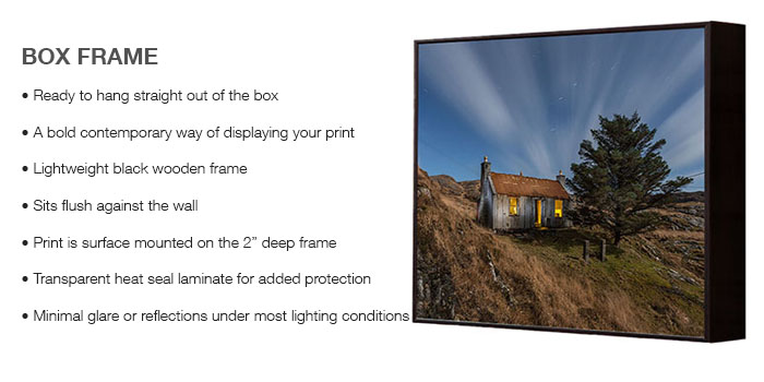 Box Frame Info