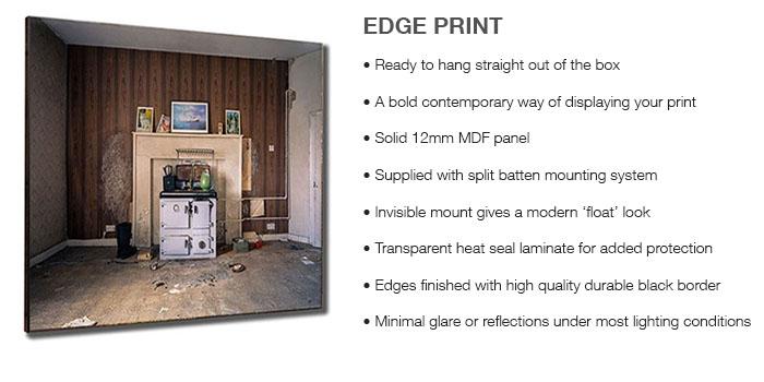 Edge Print Info